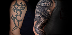 cover-up-snake-had-rukav-sleeve