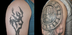 mayan, tattoo, cever-up-sleeve
